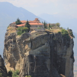 La prima tappa lungo la Via Egnatia: Meteora